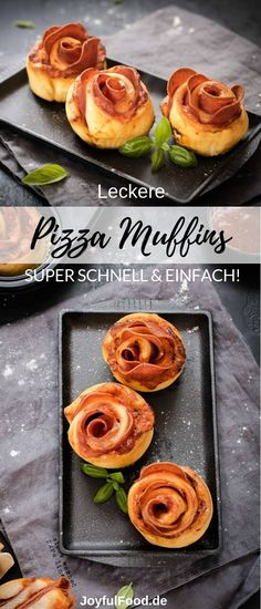 Rezept f r super leckere und total einfache Pizza Muffin Schnecken Ideal f r das Party Buffet Fingerfood oder als Snack Party Finger Foods, Snacks Für Party, Appetizers For Party, Appetizer Recipes, Snack Recipes, Simple Appetizers, Seafood Appetizers, Cheese Appetizers, Pizza Rapida