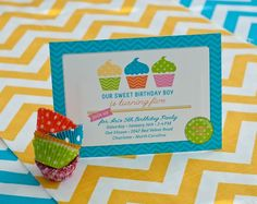 Anders Ruff Custom Designs, LLC: A Sweet Cupcake Birthday Party