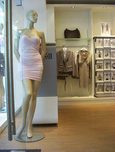 One Shoulder, Shoulder Dress, Retail, Flooring, Dresses, Fashion, Vestidos, Moda, Fashion Styles