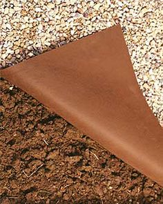 Buy this landscape fabric for use under decks, patios and paths. Rated the weed barrier by independent university tests. Landscape Fabric, Landscape Design, Garden Design, Landscape Borders, Desert Landscape, Mountain Landscape, Landscaping With Rocks, Front Yard Landscaping, Black Rock Landscaping