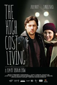 'The High Cost of Living' with Zach Braff & Isabelle Blats.       -------      http://www.imdb.com/title/tt1479388       http://highcost-thefilm.com