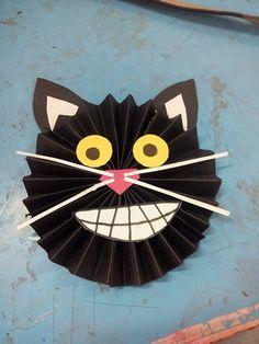 Black cat for kids craft idea
