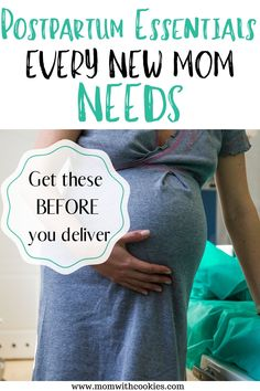 Prepare yourself now for postpartum by grabbing these essentials every new mom needs. Pregnancy Freebies, Pregnancy Checklist, Pregnancy Goals, All About Pregnancy, Pregnancy Advice, Second Pregnancy, Pregnancy Health, Labor Hospital Bag, Hospital Bag Checklist