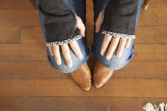 """Made by Katrina"": How to Make Fingerless Gloves from Sweaters"