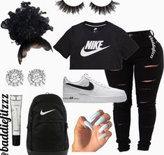 A about a girl that move to California that also a gangster but who m… #random #Random #amreading #books #wattpad Cute Lazy Outfits, Baddie Outfits Casual, Swag Outfits For Girls, Teenage Girl Outfits, Cute Swag Outfits, Girls Fashion Clothes, Teen Fashion Outfits, Look Fashion, Stylish Outfits