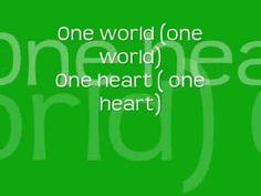 The Cheetah Girls- One World + lyrics - YouTube