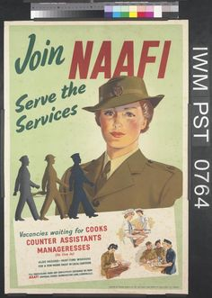 Join the NAAFI - Serve the Services