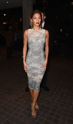 Nicole Scherzinger dazzled at the Global Gift Foundation Gala