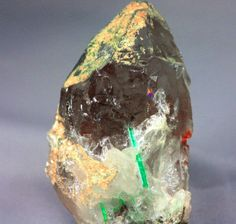 GREEN PANJSHIR EMERALD ROCK MINERAL SPECIMEN AND QUARTZ SPECIMEN This can be purchased off ebay for a mere $1,999.99 with free shipping.