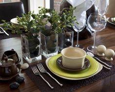 decoracion de mesas de hogar - Buscar con Google