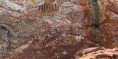 Sítio Arqueológico Pedra Pintada, Barão de Cocais, Cocais, Estrada Real, Caminho dos Diamantes, MG, Pintura Rupestre