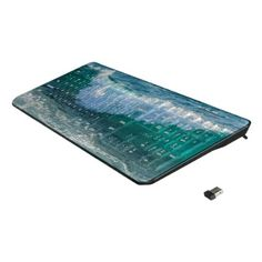 Ocean Wave Beach Life Nautical Wireless Keyboard - photography gifts diy custom unique special
