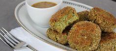 Polpette di broccoli con salsa alla senape ricetta