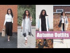 Four Autumn Outfits | Aine's Wardrobe