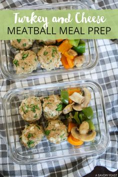 Healthy, low-carb Spinach and Cheese Turkey Meatballs are great for dinner or to meal prep for lunches! They also freeze great. Made without breadcrumbs and packed with flavor, you'll love these meatballs no matter how you serve them. Meatball Recipes, Turkey Recipes, Lunch Box Recipes, Dinner Recipes, Quick Weeknight Dinners, Easy Meals, Cheese Turkey, Cheese Stuffed Meatballs, Easy Healthy Recipes