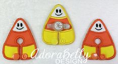 Candy Corn Gtube Covers Gtube Pads Mic-Key by AdorabellyDesign