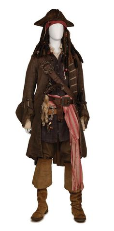 capt jack sparrows costume