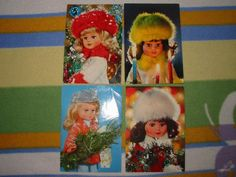 V�no�n� panenky Czech Republic, Elf On The Shelf, Kettle, Watercolour, Postcards, Dishes, Toys, Holiday Decor, Home Decor