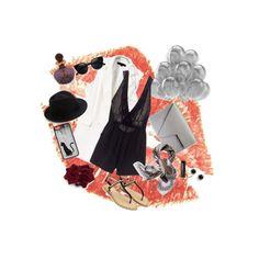 Black&white#1 by pham-thu-phuong-thao-vi on Polyvore featuring polyvore, moda, style, Victoria's Secret, Rachel Zoe, Kate Spade, Eugenia Kim, Tory Burch, CellPowerCases and Baldi