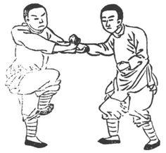 《形意拳學》 孫祿堂 (1915) - drawing 18