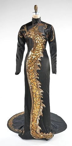 Travis Banton Gown worn by Anna May Wong in Limehouse Blues (1934), via @~ Mlle..   via pinterest..