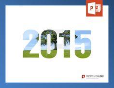 8 kostenlose PowerPoint-Vorlagen mit Jahreszahlen, Fotos und Vorsätzen zum neuen Jahr 2015. Nur bei PresentationLoad! http://www.presentationload.de/2015-kostenlose-powerpoint-vorlage.html