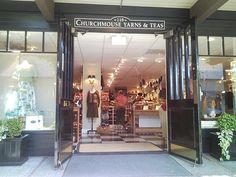 Churchmouse Yarn and Teas, on Bainbridge Island.  The best, most cozy yarn store I've ever seen.  I want to go back!