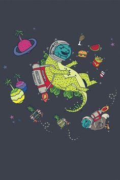 DINOSAUR IN SPACE