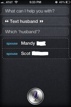 Are you trying to say something Siri?