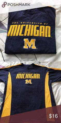 University of Michigan long sleeve shirt Great condition doesn't fit anymore only worn a few times Varsity Classics Shirts Tees - Long Sleeve