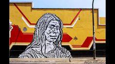 Mural hecho por 'Toxicomano'. Foto: Facebook/Municipalidad Metropolitana de Lima
