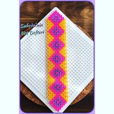 Bookmark hama beads by suhedadesign