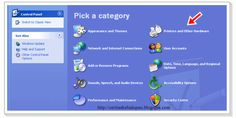 Cara Mengganti Kursor Mouse Windows XP