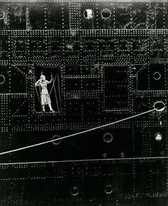 Bill Brandt - The Queen Elizabeth, 1946. From The Photography of Bill Brandt. °