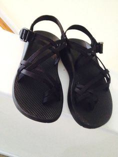 Chaco sandals Shoes Black Womens Ladies Strappy Size 8 Performance Footwear Nice #chacos #SportSandals