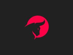 """Check out this project: """"Intenso Fitness""""… Taurus Logo, Carnicerias Ideas, Cow Logo, Bull Logo, Luxury Business Cards, Design Art, Graphic Design, Arte Pop, Pics Art"""