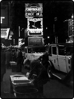 New York, Times Square, 1932.    by Dr. Paul Wolff
