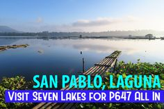 One, two? How about seven amazing lakes in a day? Visit them here at San Pablo, Laguna.