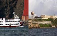 Golden Gate Bay Cruise plus Alcatraz as a Second Reservation - Two great sightseeing adventures on the Bay