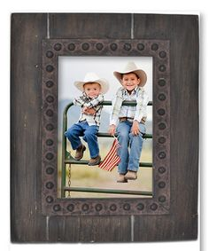 Love this Brown Decorative Frame by Enchante Accessories on #zulily! #zulilyfinds