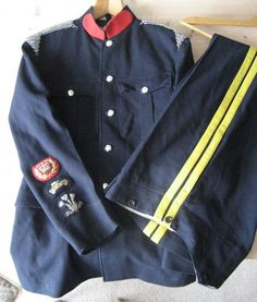 Sell one like this 9th/12th Royal Lancers Uniform with Chain Epaulettes & Badges