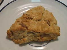 Lemon-Ginger Scones with Oat Flour