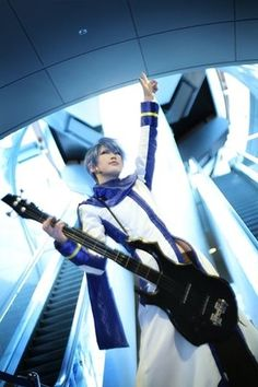 Vocaloid Kaito S cosplayed by Reika ~.~