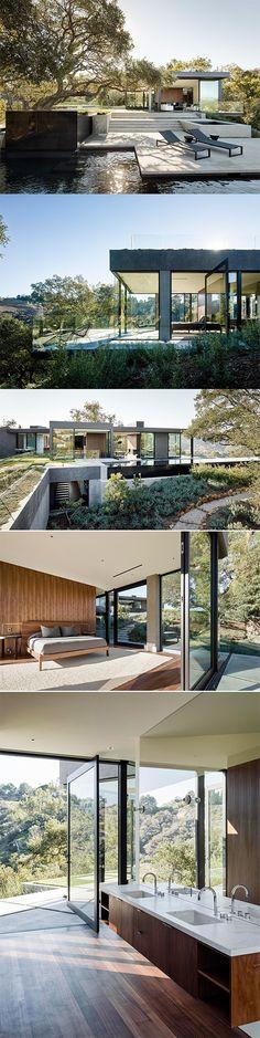 Oak Pass House - Beverly Hills, California http://www.thecoolhunter.net/article/detail/2334/oak-pass-house--beverly-hills-california