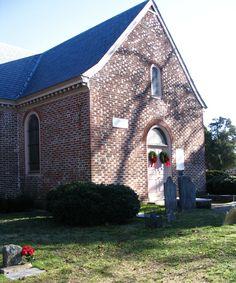Old Blandford Church, Petersburg, Virginia