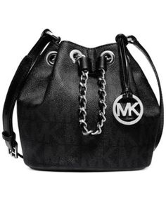 Michael Kors Frankie MK Signature Drawstring Crossbody Messenger Bag Black  NWT in Clothing, Shoes \u0026 Accessories, Women\u0027s Handbags \u0026 Bags, Handbags \u0026  Purses