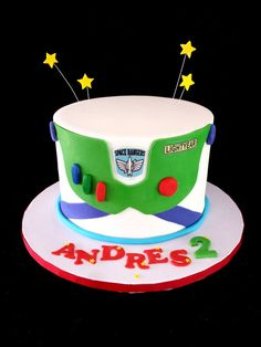 Buzz Light-Year Cake