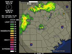 2014-08-17 Austin-San Antonio Radar | Weather Underground