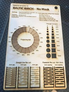 Updated Material Test Template - Free Laser Designs - Glowforge Owners ForumYou can find Laser cutting and more on our websi. Graveuse Laser, Laser Art, Laser Cut Wood, Laser Cutting, Wood Laser Ideas, Diy Laser Cutter, Laser Cutter Projects, Cnc Projects, Lazer Cutter