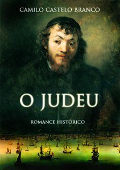 """Capa do livro """"O Judeu"""" de Camilo Castelo Branco."""